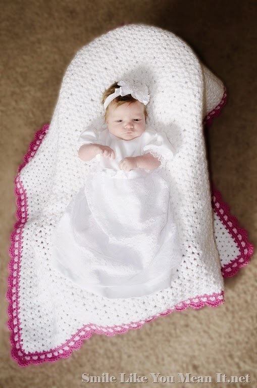 Ruby's Blessing Dress and Blanket
