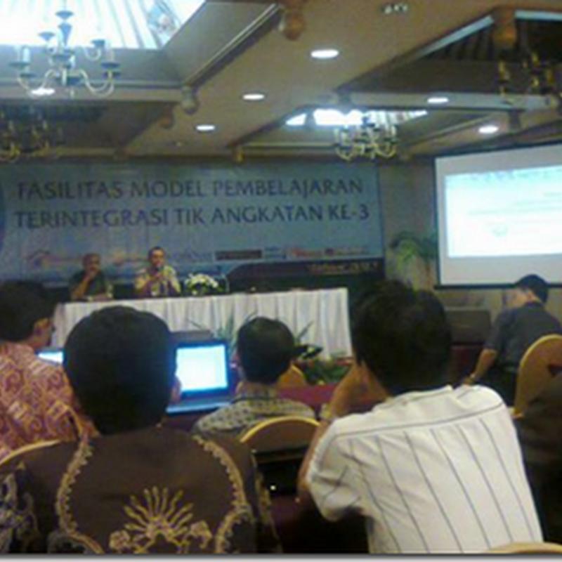 Fasilitasi Model Pembelajaran Terintegrasi TIK Pustekkom Kemdikbud Tahun 2013