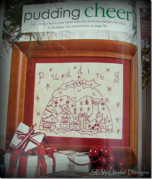 Handmade pudding cheer
