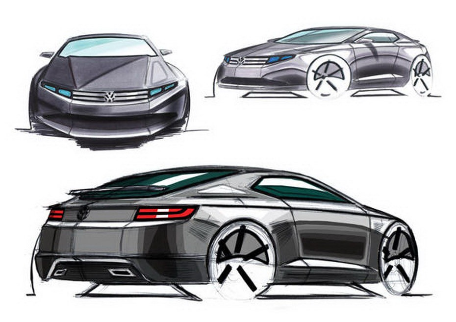 Volkswagen Scirocco Coupe Re-Imagined by Design Student   New Cars,Car ...