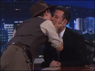 johnny Depp and Jimmy Kimmel