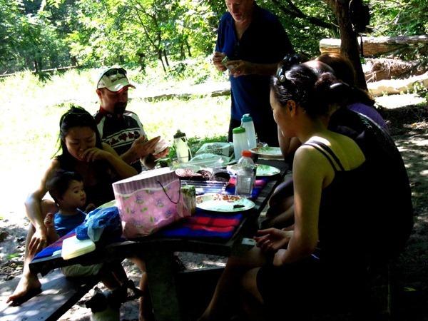 Family picnic - Toronto