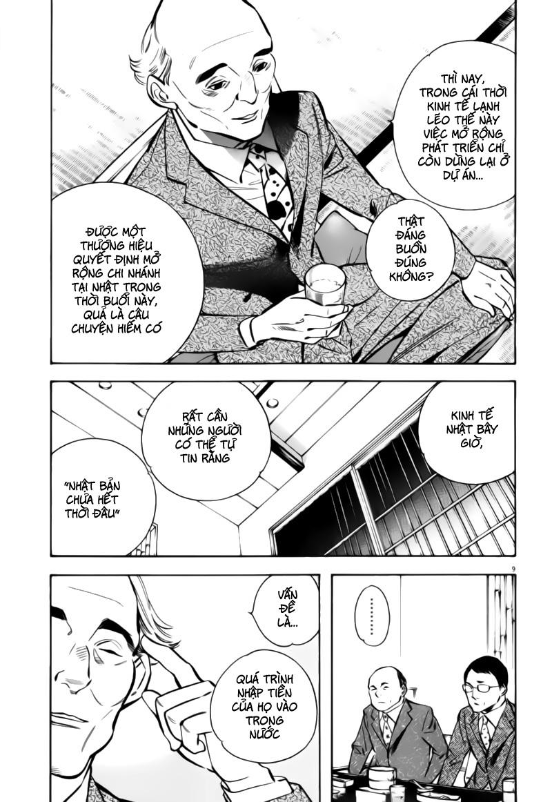 Shin Kurosagi - Con Diệc Đen 2 chap 197 - Trang 9