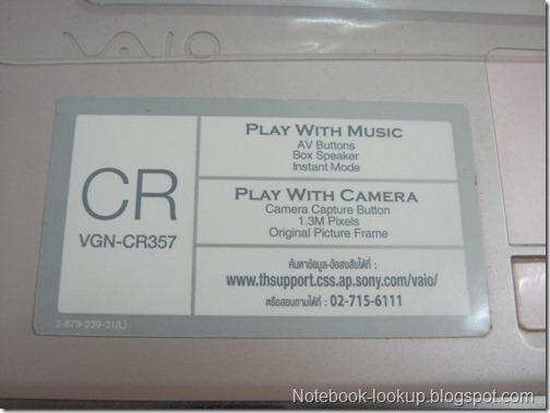 บันทึกอาการเสีย - Sony Vaio VGN-CR357 เครื่องดับเอง เวลาไม่แน่นอน