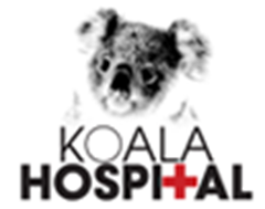 Logo for the documentary film, 'Koala Hospital', which highlights the many perils facing koalas, including climate change due to record fires across Australia, deforestation, dogs, and vehucular traffic. Graphic: koalahospital.com