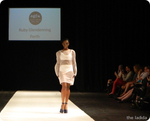 Ruby Glendinning - AGFW Fashion Show 2012 (1)