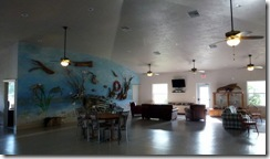Inside Clubhouse at Cedar Key RV