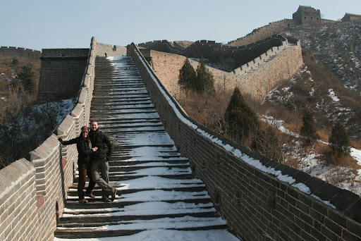 Lynette and I at the amazing Jinshanling section of the Great Wall.