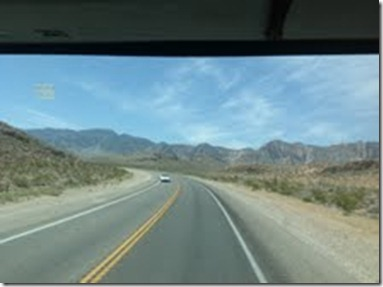 Scenery on the way to Pahrump