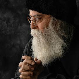 RABBI by Rakesh Syal - People Portraits of Men (  )