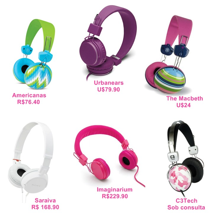 headphones onde comprar