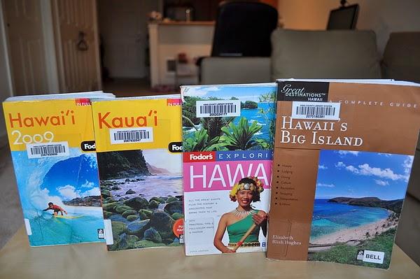 威夷的旅遊書籍