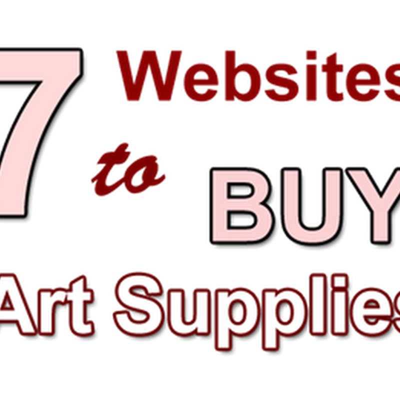 7 Online Retailers to Buy Art Supplies