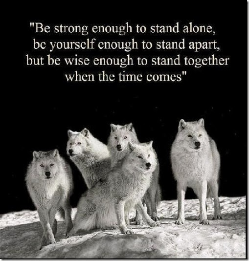 Stand Together When the Time comes