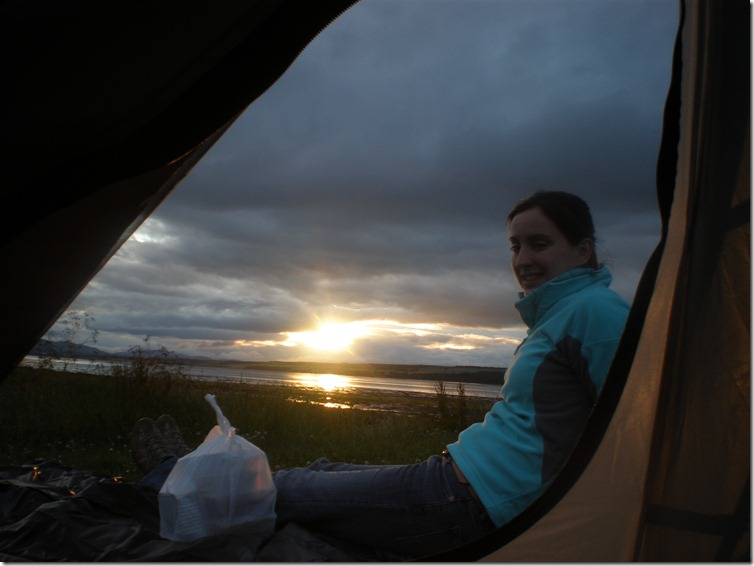 Sandwood Bay Camping