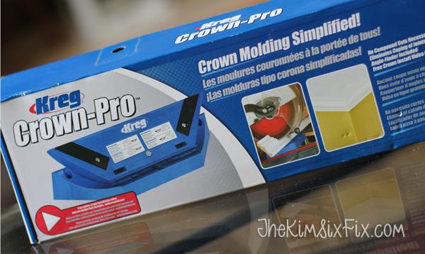 Kreg Crown Pro for Mitering Crown Molding