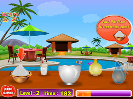 Screenshot of italian pizza cooking games