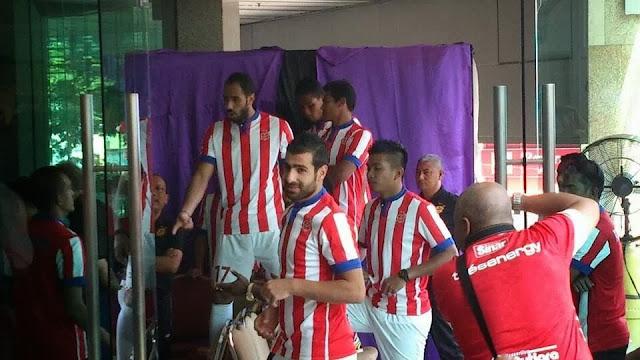 Live! Suasana majlis pelancaran jersi AFC pasukan Kelantan
