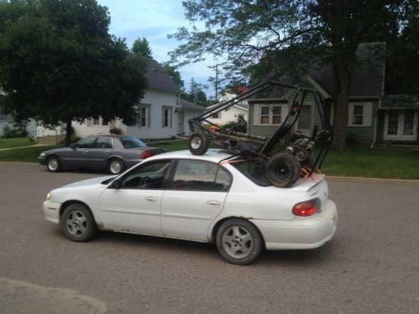 Um veículo diferente poderia ter funcionado melhor 15