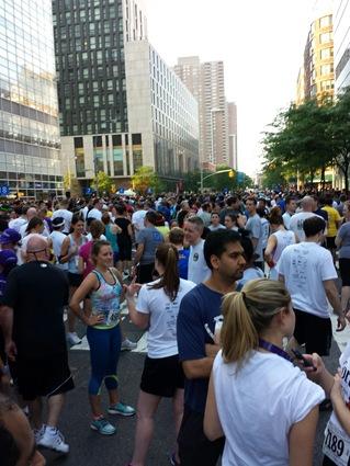 Wall Street Run Start