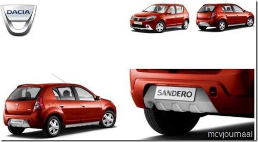 Dacia Sandero SUV set 02
