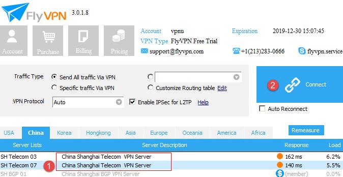FlyVPN Client