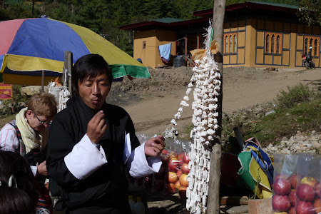 Branza pietrificata dn Bhutan