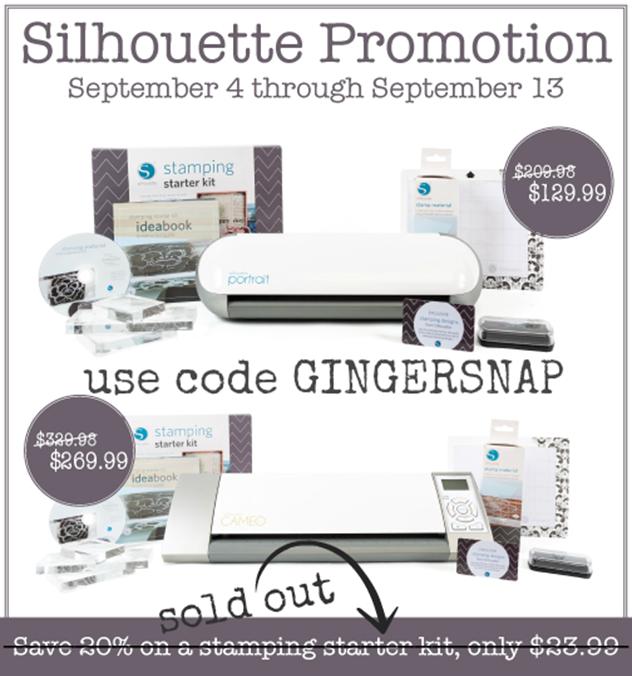 #Silhouette Stamping Starter Kit promotion #spon