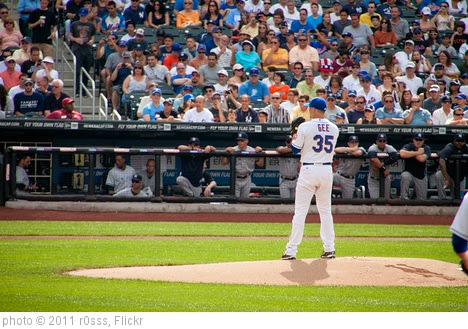 'Dillon Gee on the mound' photo (c) 2011, r0sss - license: https://creativecommons.org/licenses/by-nd/2.0/