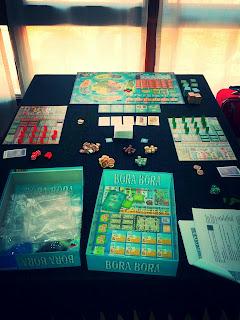 Partida de Bora Bora para 2 jugadores