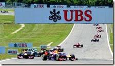 Le due Red Bull davanti a tutti nel gran premio di Germania 2013
