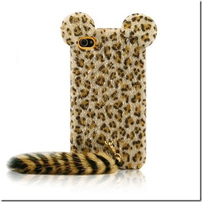 Leopard-Hair-Soft-Fur-Long-Tail-Case-for-iPhone-4-4g-4s