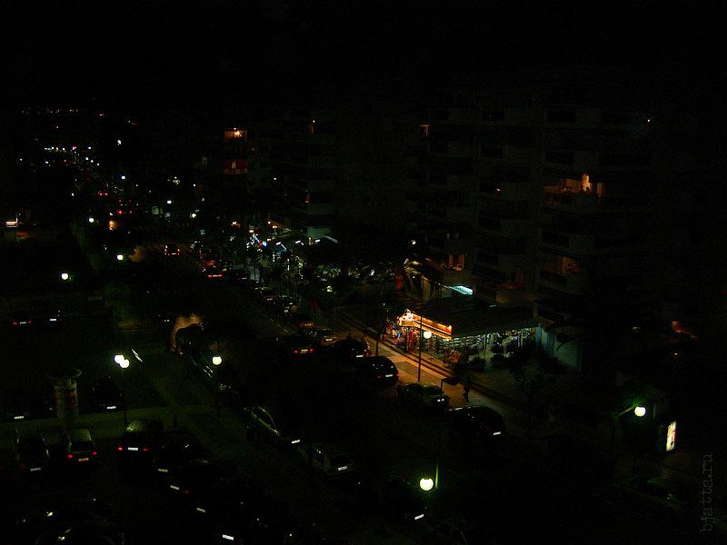 Hotel Terramarina (ex. Carabela Roc). La Pineda. Costa Dorada. Spain. Ночью, конечно же намного красивее.
