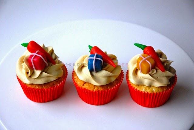 Cupcakes marsepein sint (Kopie)