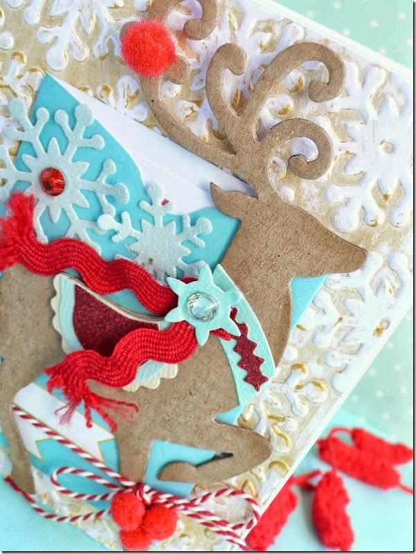 cafe creativo - Anna Drai - sizzix big shot - card christmas (2)