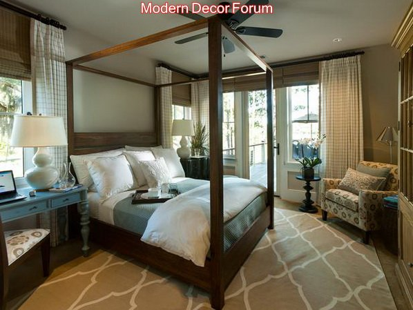 Master Bedroom 2014 Bedroom decoration of HGTV Dream Home