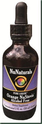 Liquid Orange NuStevia Alcohol Free