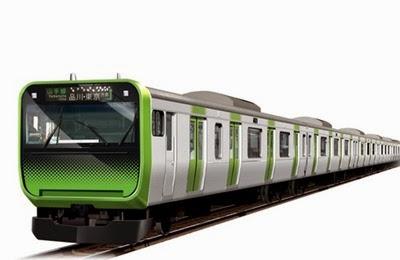 Trem linha yamanote2