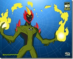 swampfire_large Fogo Fátuo ou Fogo Selvagem – Força Alienigena
