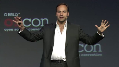 Mark Shuttleworth all'OSCON 2012
