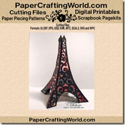 eiffel tower 3d-cf-325