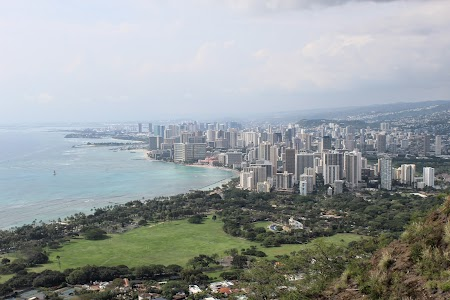 Vacanta Hawaii: Waikiki from Diamond Head