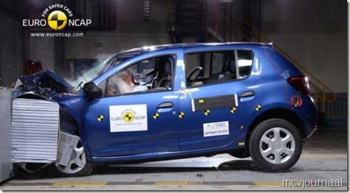 EuroNCAP Dacia Sandero 01