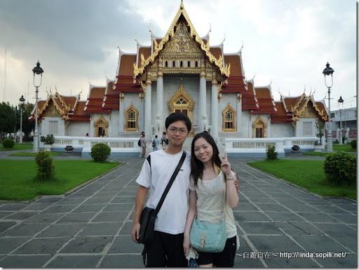 泰國曼谷-大理石寺合照