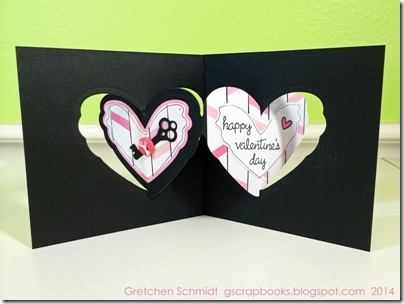 Happy Valentines Day card by @gscrapbooks