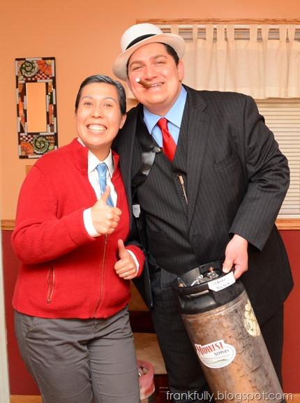Al Capone & Mr. Rogers costumes!
