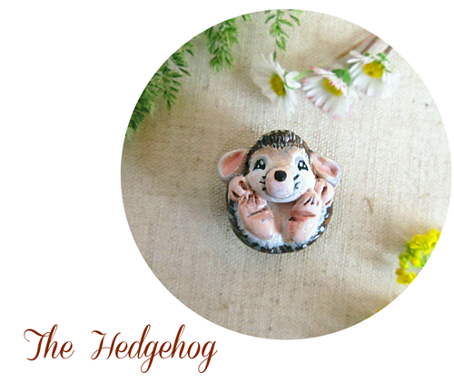 hedgehog figurine blog