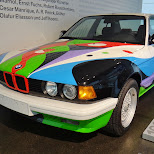 1990 bmw art car in Munich, Bayern, Germany
