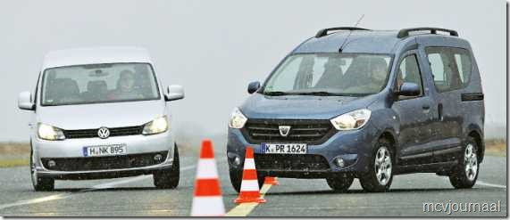 Dacia Dokker vs VW Caddy 10