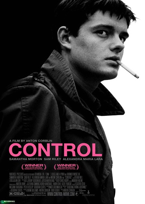 Control Movie Poster Ian Curtis Joy Division